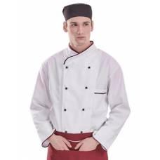 MV 45901 Fehér szakácskabát /S